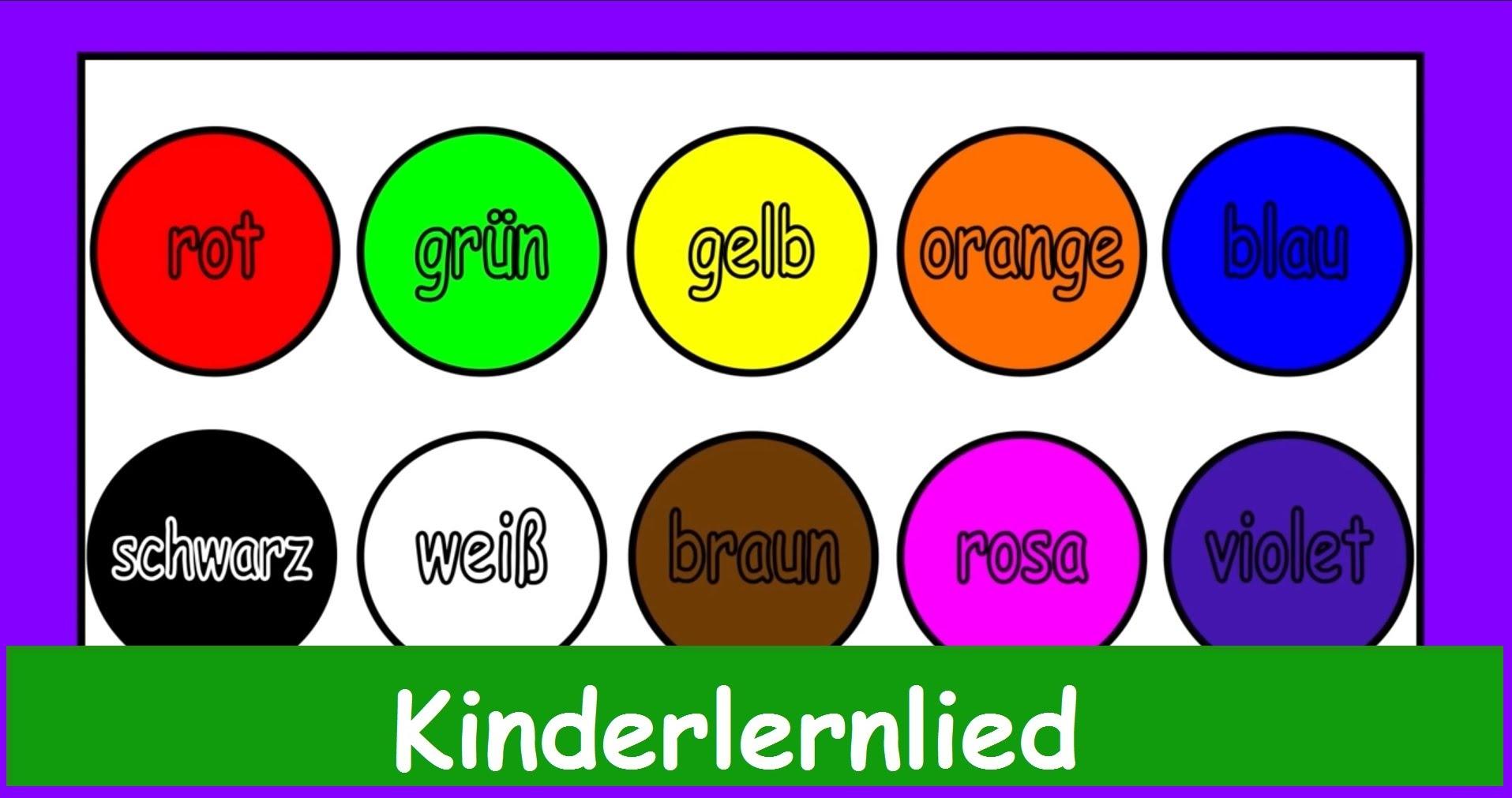 Farben Für Kinder.Kinderlied Archives German Akademie