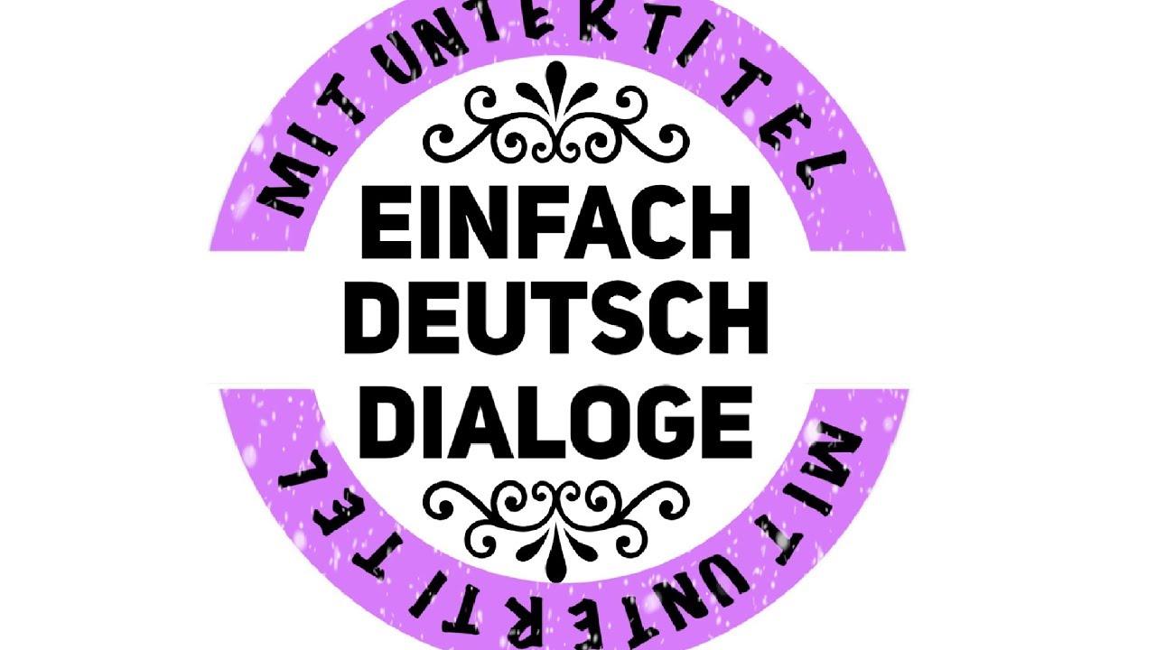 Deutsch lernen durch h ren 214 ein dialog zum deutsch lernen mit musik german akademie - Durch wande horen app ...