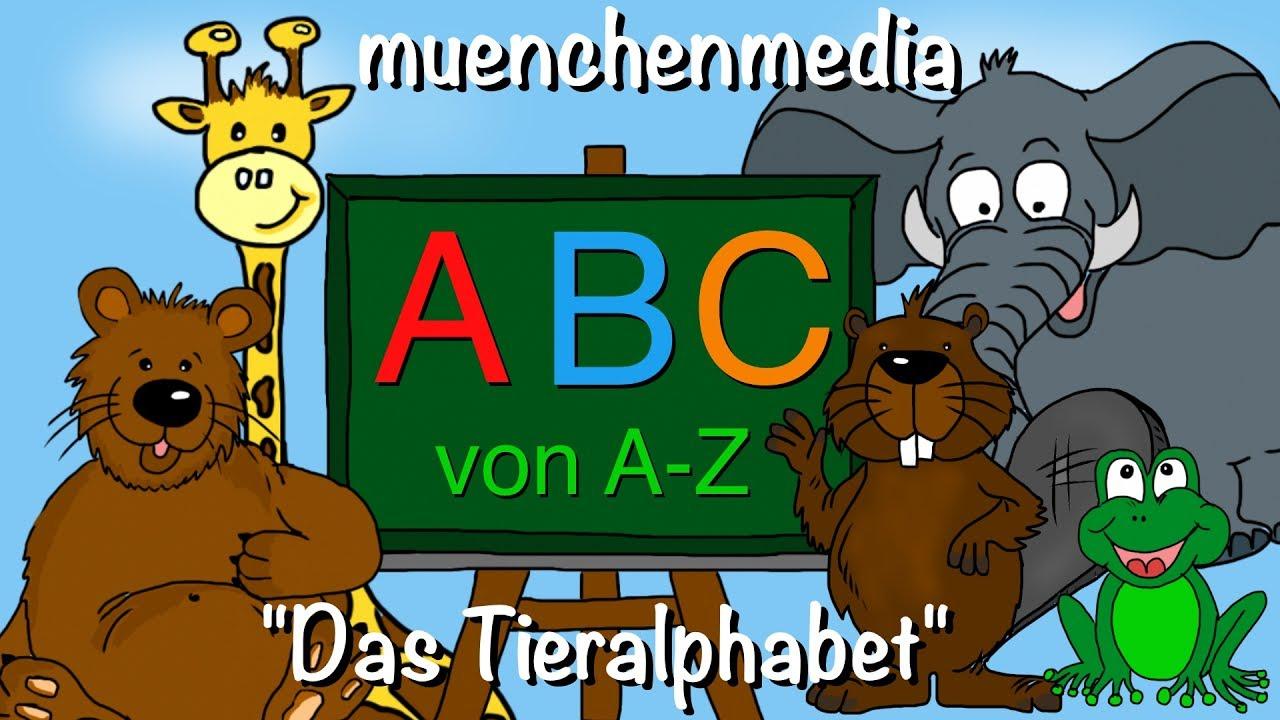 ABC Lied ( ABC Song) - Alphabet deutsch lernen - Kinderlieder