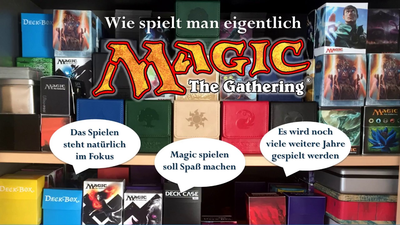 Magic Spielen Lernen