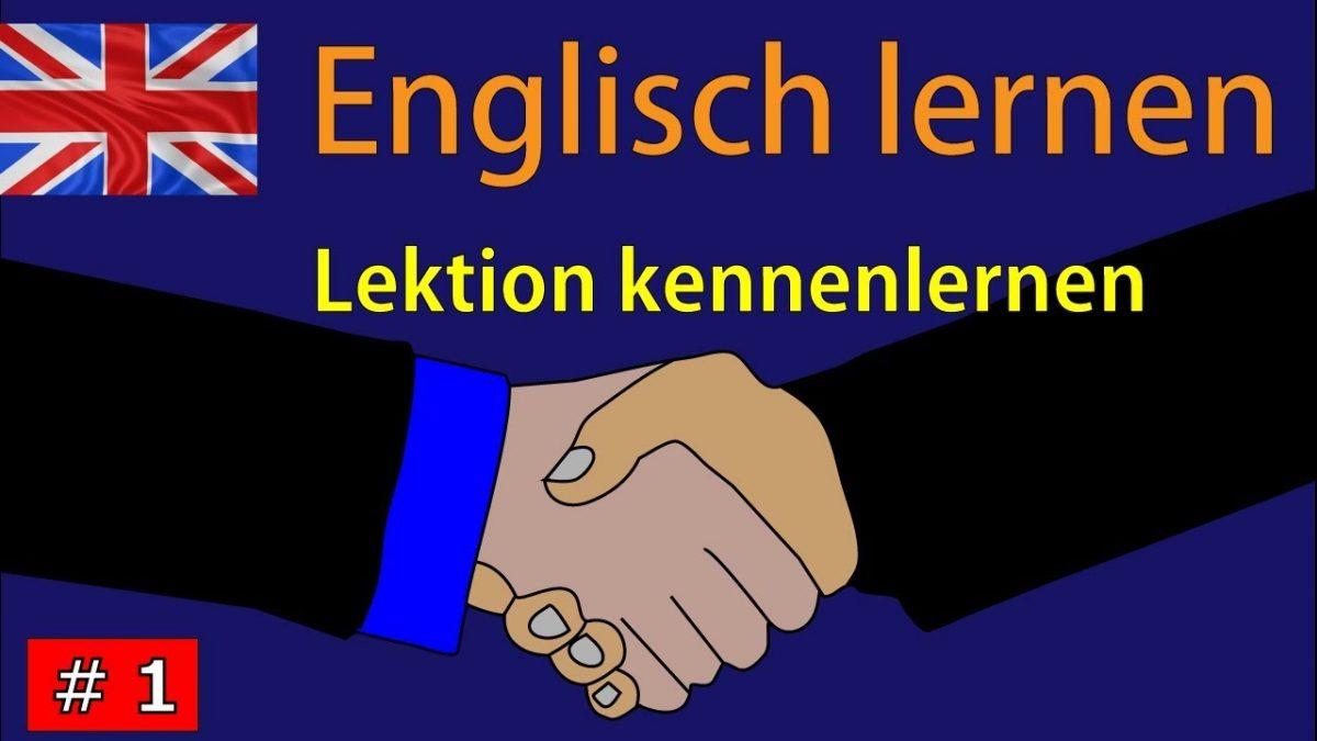 Kennenlernen werden englisch
