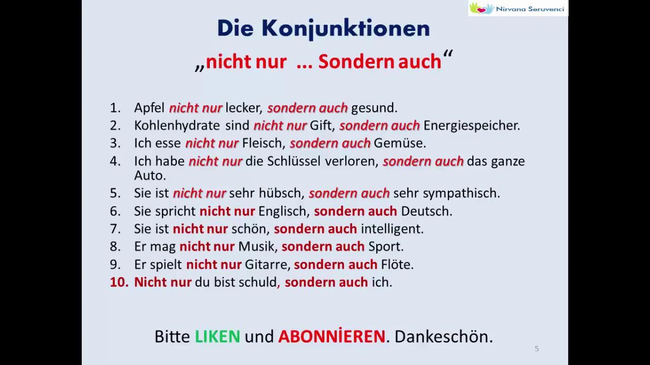 Konjunktionen Domino Konjunktionen Deutsch 1