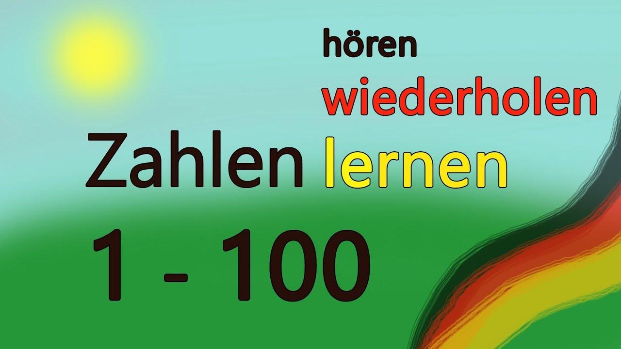 zahlen lernen bis 100 kinderstimme mit untertiteln deutsch lernen german akademie. Black Bedroom Furniture Sets. Home Design Ideas