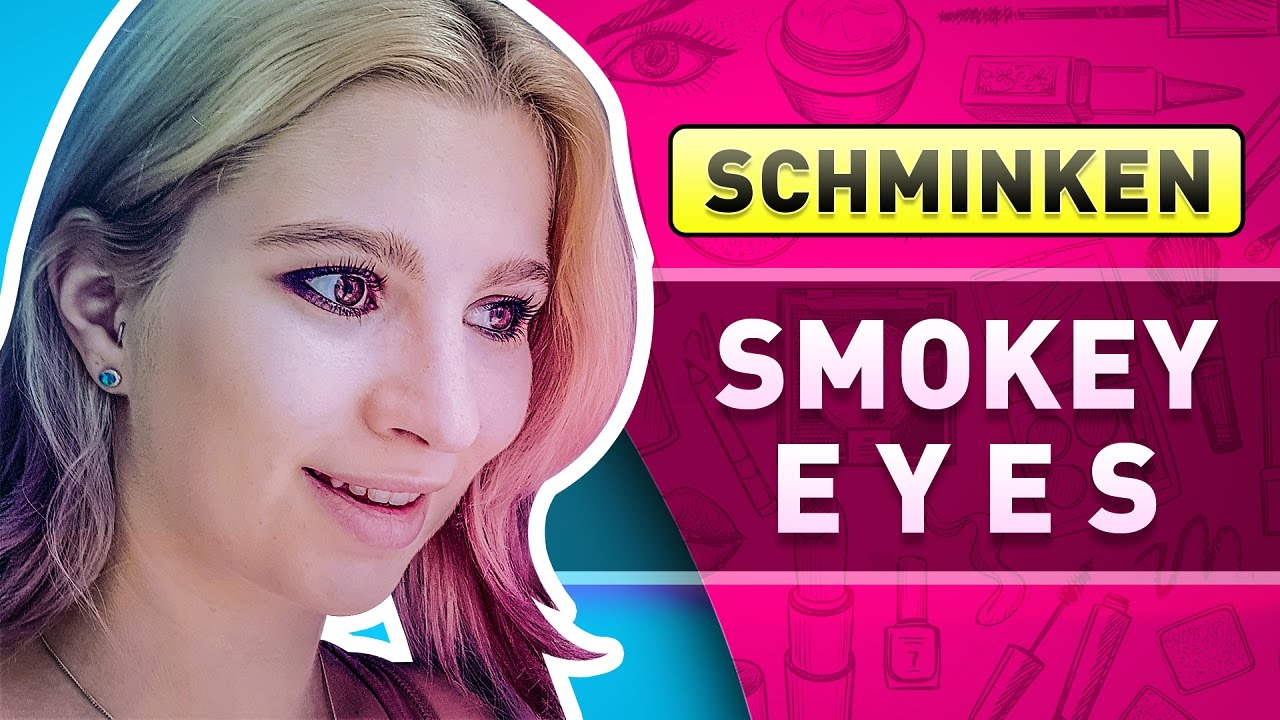 smokey eyes schminken deutsch youtube lidschatten. Black Bedroom Furniture Sets. Home Design Ideas