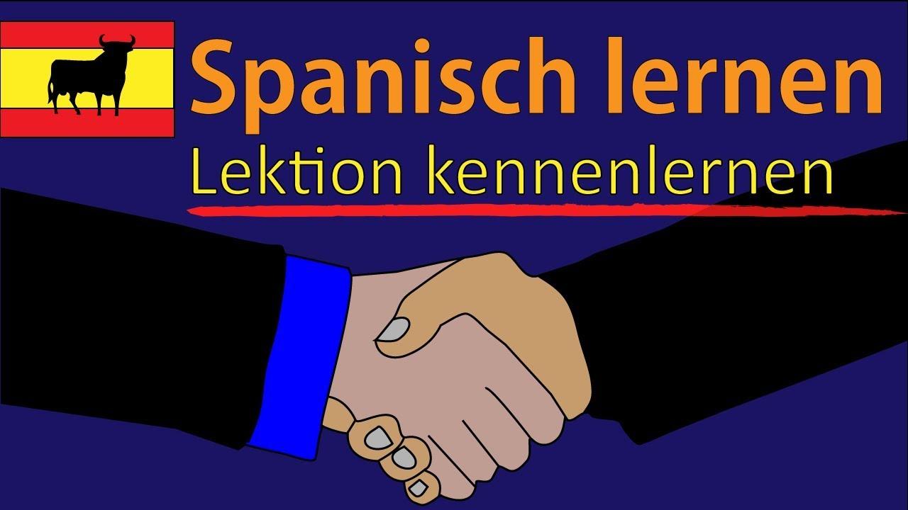 Sich kennenlernen spanisch